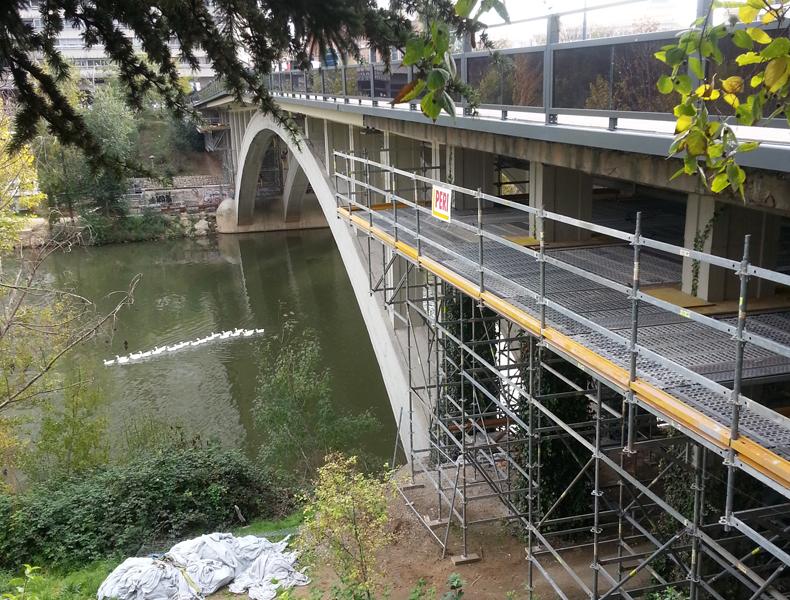 Puente Avda Isabel La Católica – Valladolid