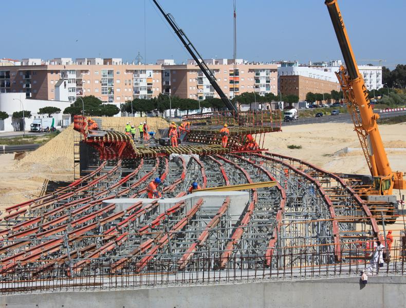 Nuevo acceso a la bahía de Cádiz – Muelle del troncadero